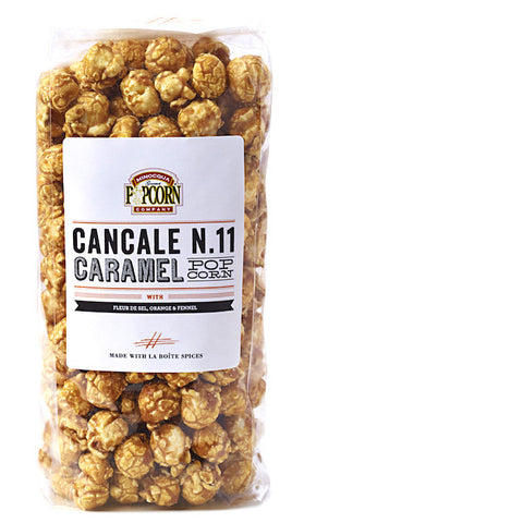 carmel popcorn with cancale spice