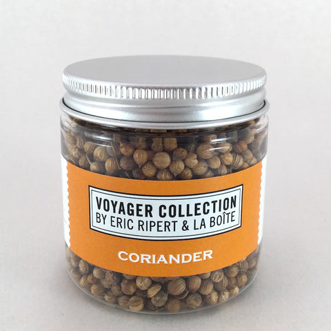 jar of coriander seeds