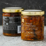 jar of brinjal caponata