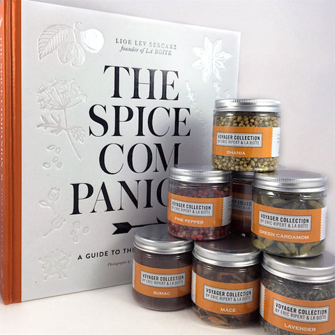 the spice companion cookbook with voyager spice blends