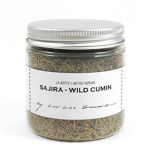 jar of sajira (wild cumin)