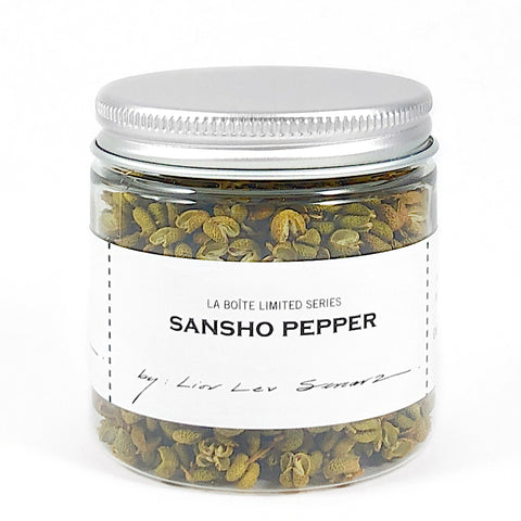 jar of sansho