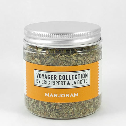 jar of marjoram