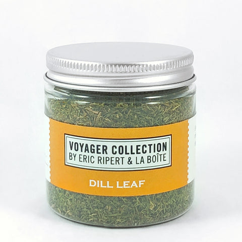 jar of dried dill leaf