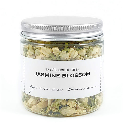 jar of jasmine blossom
