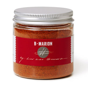 jar of b-mario bloody mary seasoning