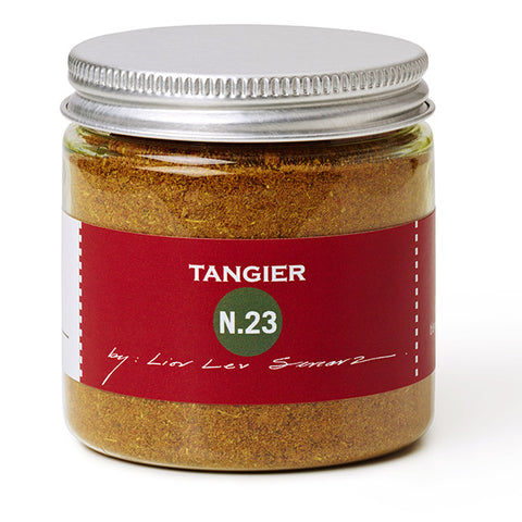 jar of tangier spice blend