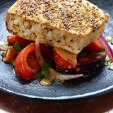 swordfish with tomatoes spiced with breeze