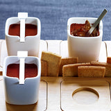 pots de creme with smoked cinnamon