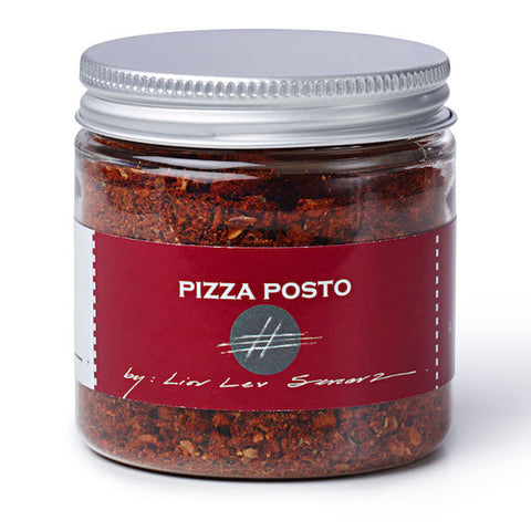 jar of pizza posto spice blend