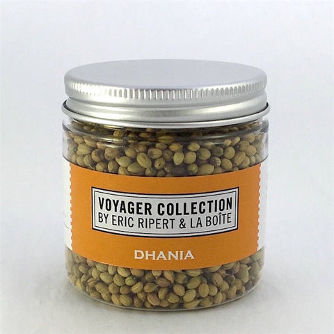jar of dhania seeds