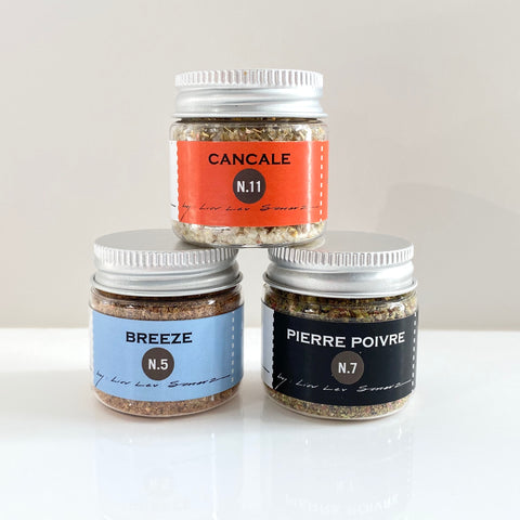 set of 3 mini essential spice blends