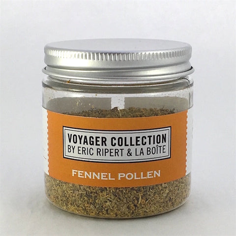 jar of fennel pollen