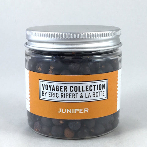 jar of whole juniper berries