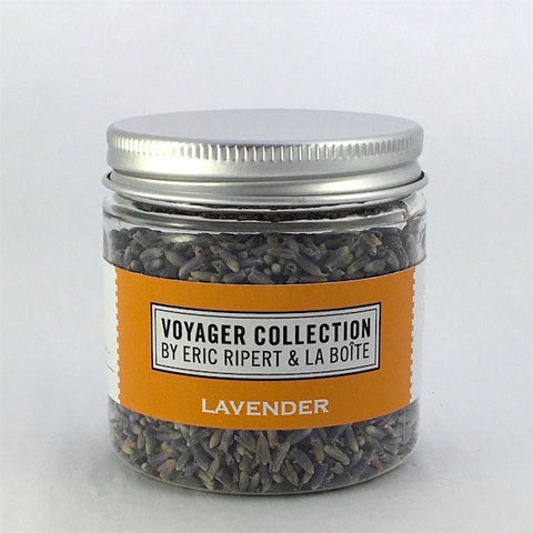 jar of dried lavendar