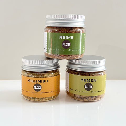mini set of 3 savory and sweet spice blends