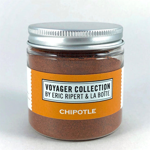 jar of dried chipotle peppers