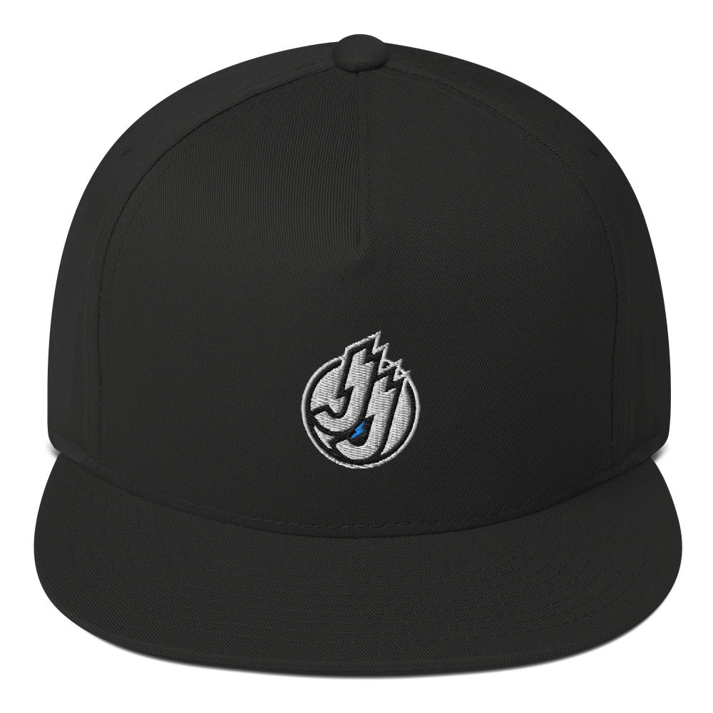 JJ Flat Bill Cap (Black)