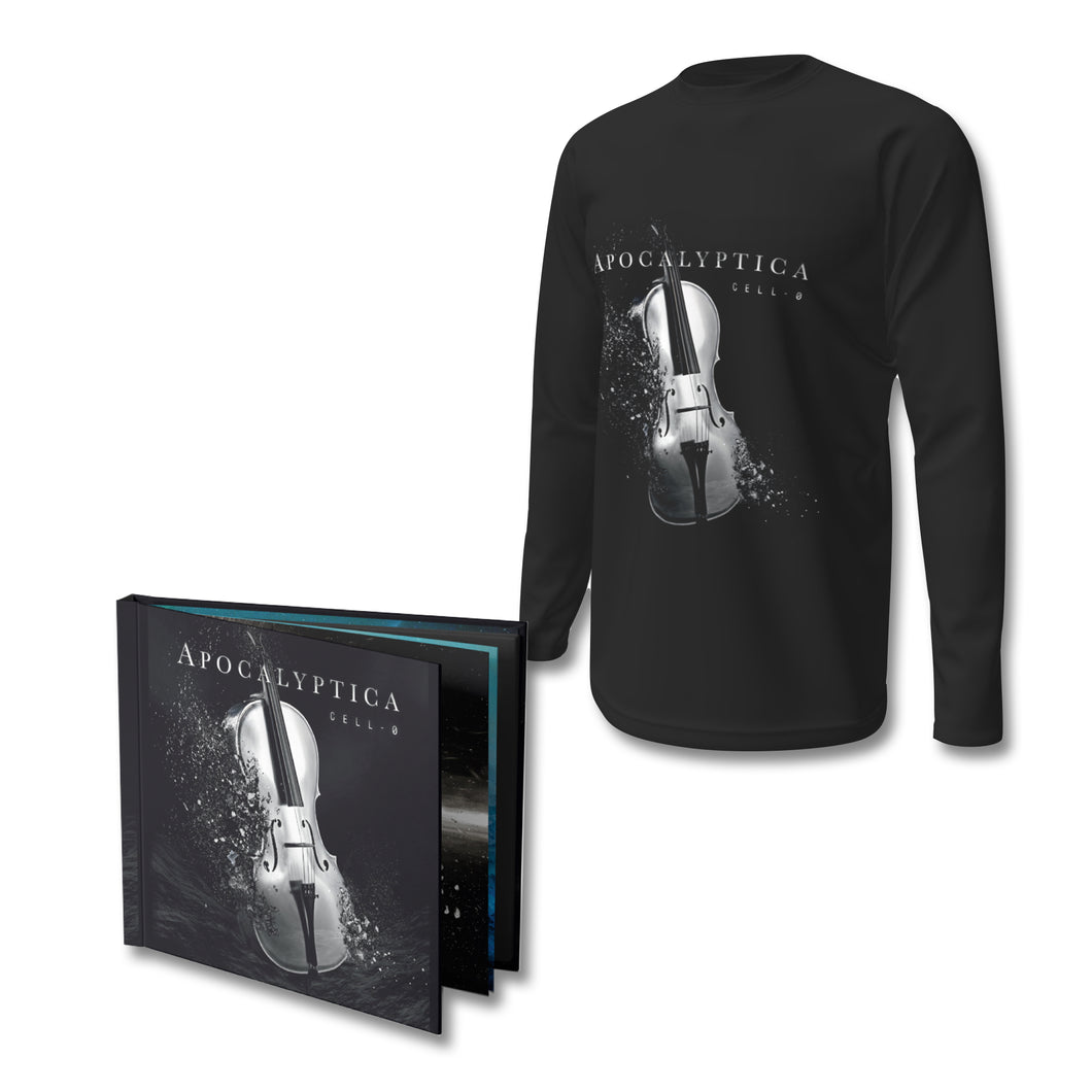CD Mediabook + Long-sleeved T-shirt Bundle