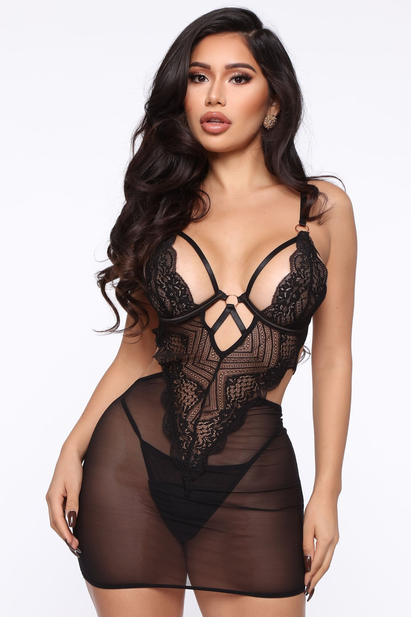 Athena Little Black Lace