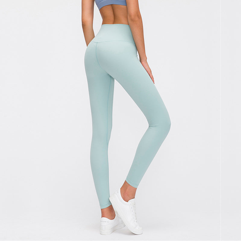 Gym Girl Leggings - Aqua Green