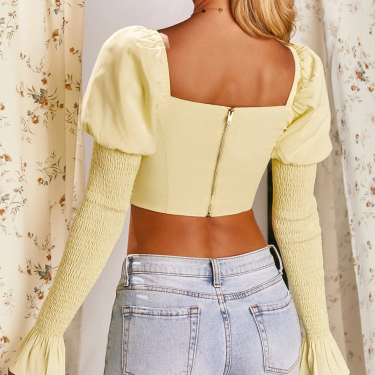 Gladys Crop Top