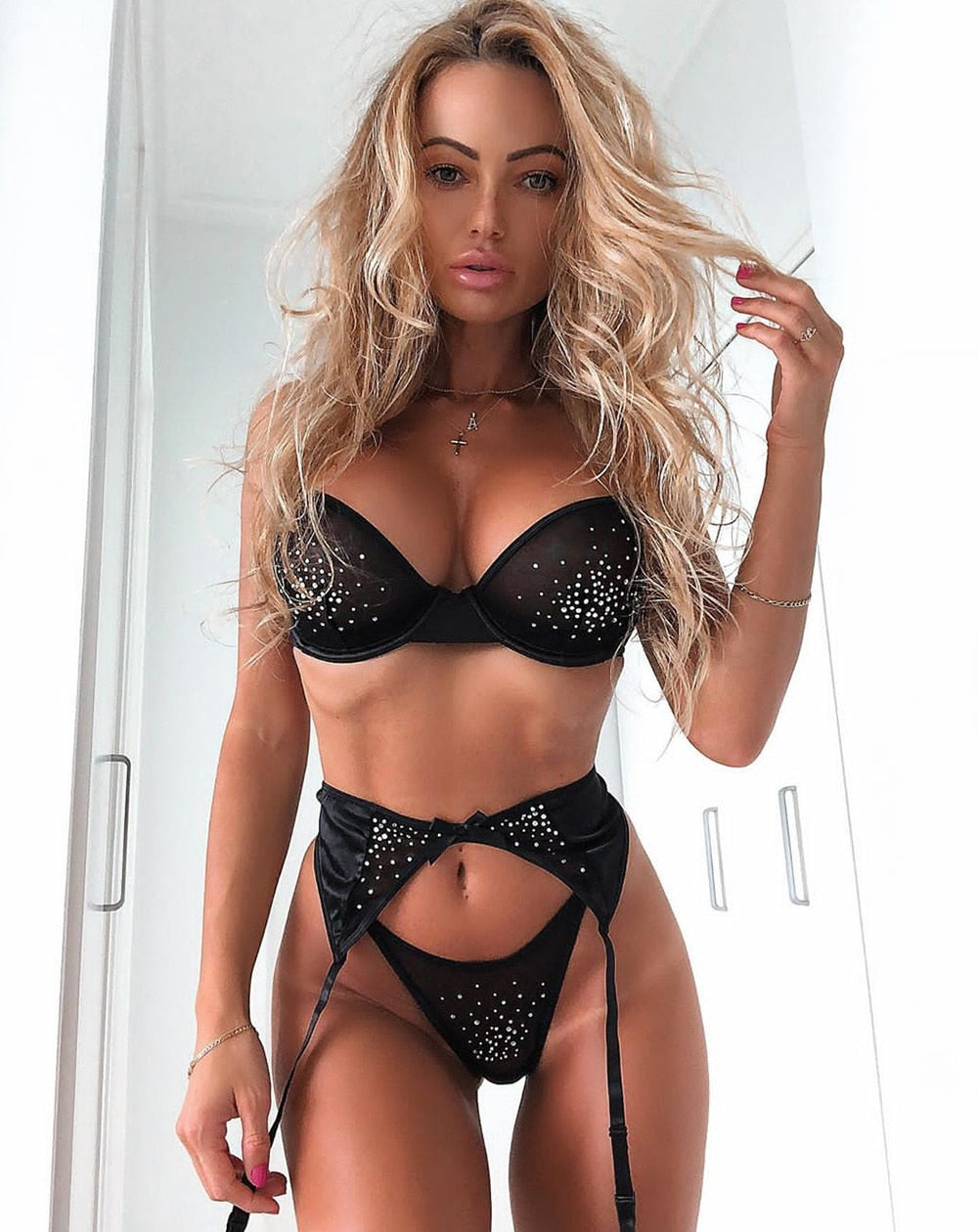 Shaggy Lace Set