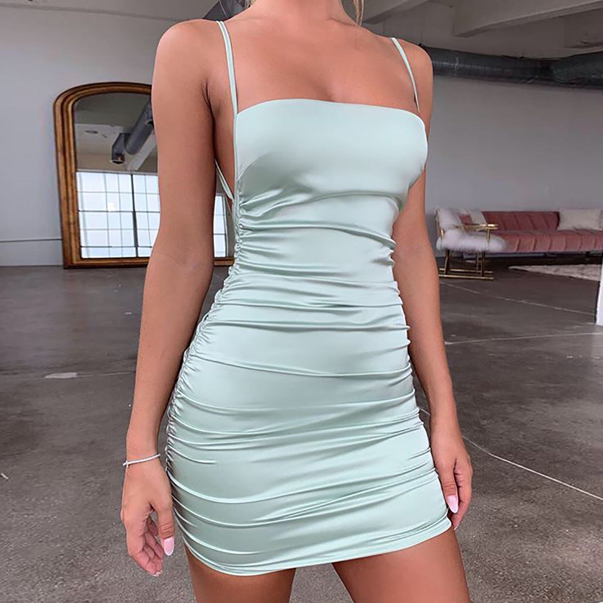 Gisou Dress - Mint