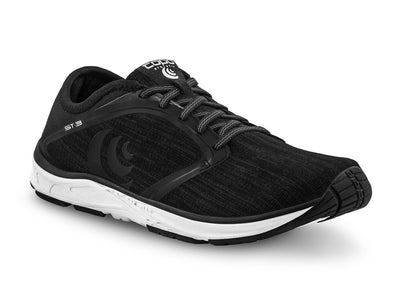 Topo ST-3 Mens Road Running Shoe in Black/Grey