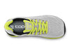 Topo Fli-Lyte 3 Mens Road Running Shoe in Silver/Lime – Top View