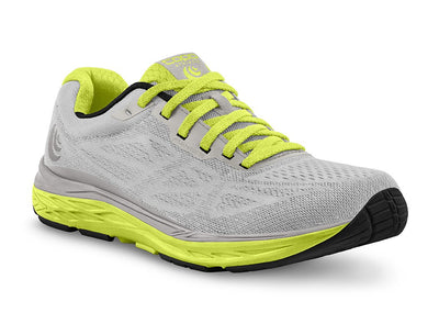 Topo Fli-Lyte 3 Womens Road Running Shoe in Silver/Lime
