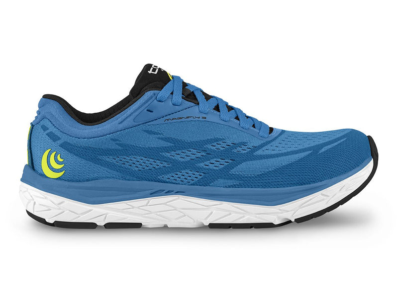 Topo Magnifly 3 Men's Zero Drop Road Running Shoe in Blue/Blue