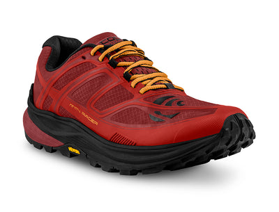 Topo MTN Racer Mens Trail Running Shoe in Red/Orange