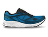 Topo Zephr Mens Distance Road Running Shoe in Blue/Black – Side View