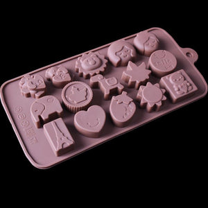 G.G.W 4PCS Water Wave Pendant DIY Crystal Jewellery Casting Moulds Silicone Resin Jewelry Molds Craft Molds for Pendant Key Chain Gem Bracelet