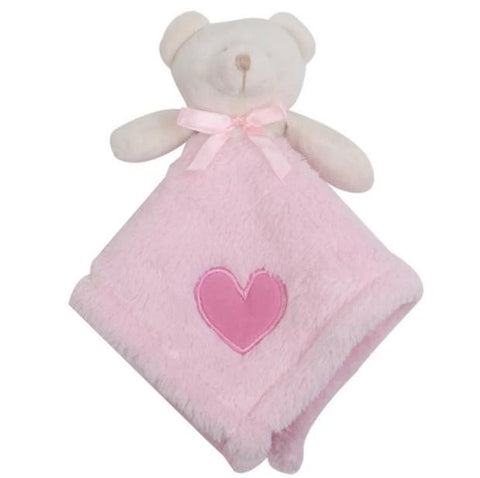DOUDOU OURSON ROSE - L'Univers des Peluches