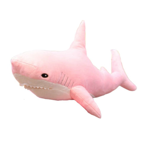 PELUCHE REQUIN ROSE 80 CM - L'Univers des Peluches