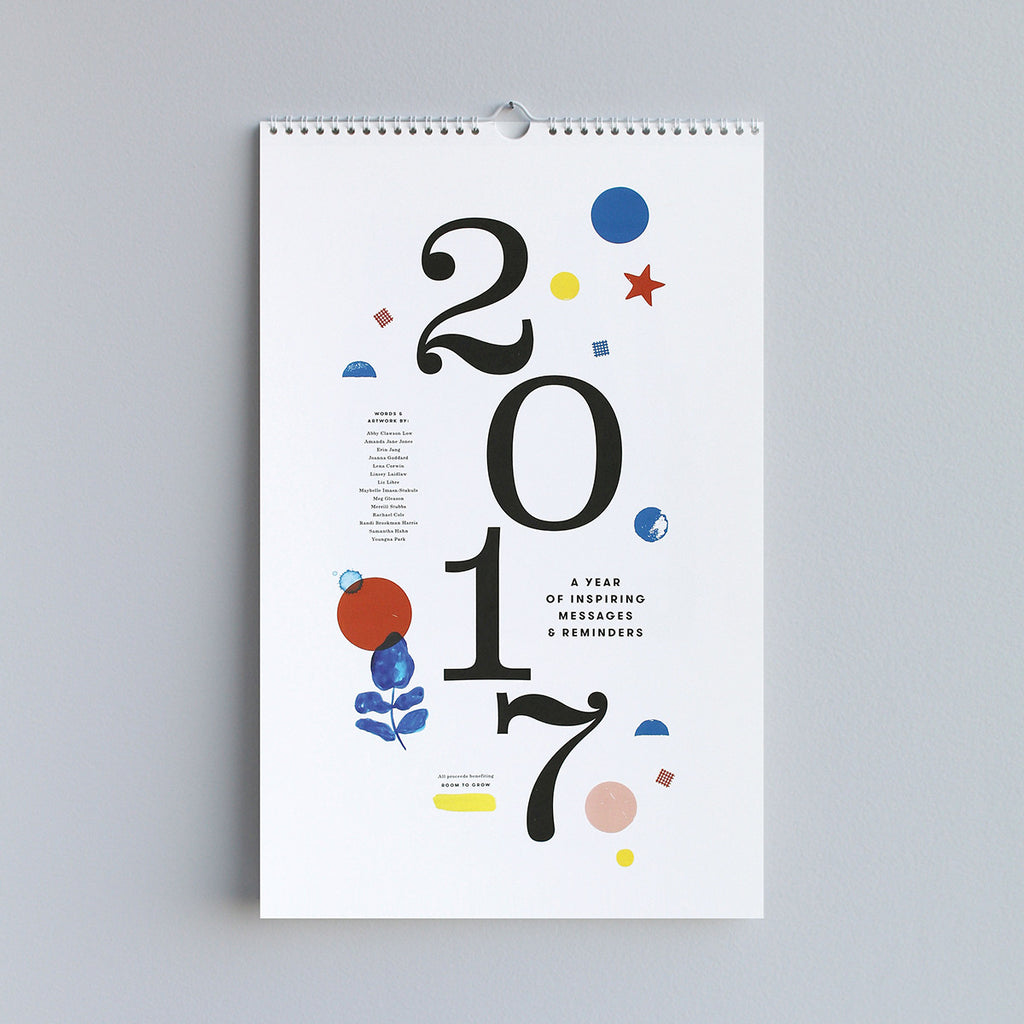 2017 Collaborative Calendar