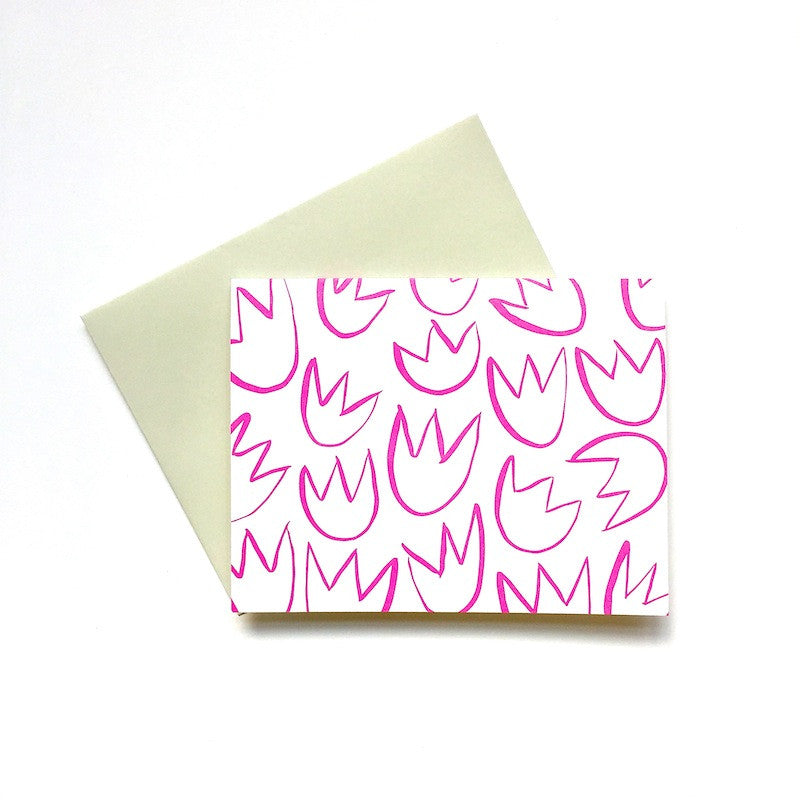 Tulip Note Cards: Set of 5