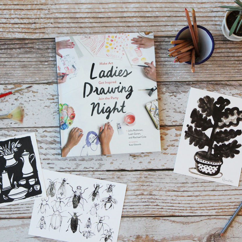 Ladies Drawing Night Book (featured artist)