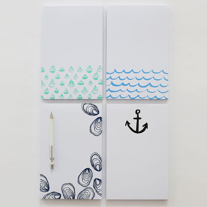 Sailboats Notepad