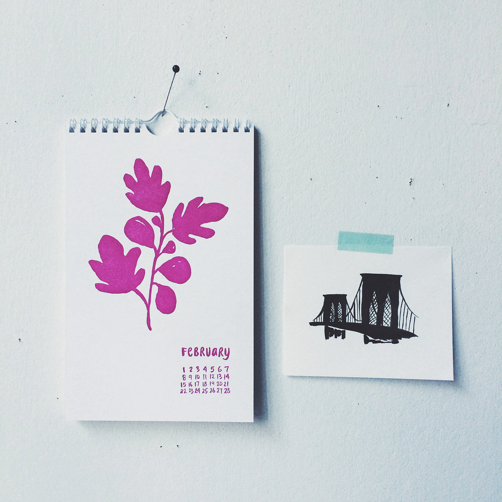 Mini Print: Brooklyn Bridge