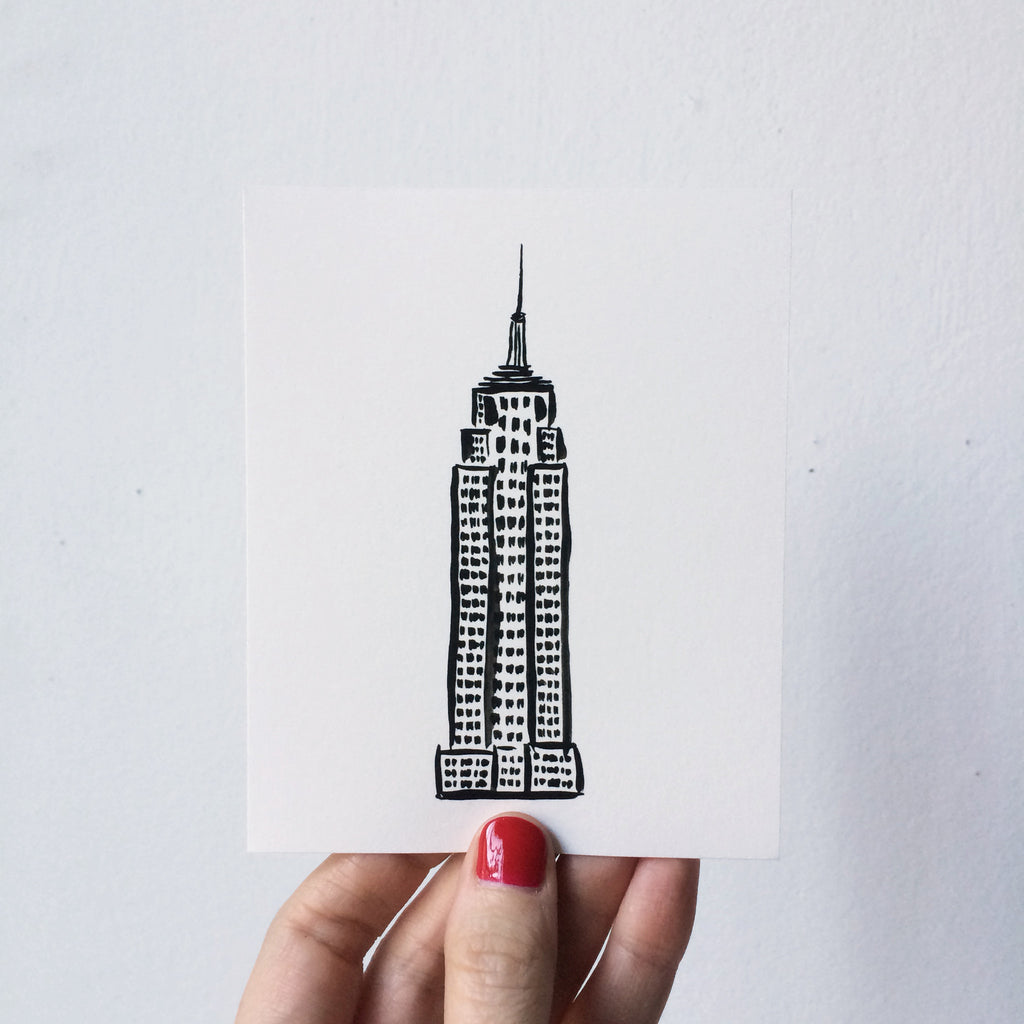 Mini Print: Empire State Building