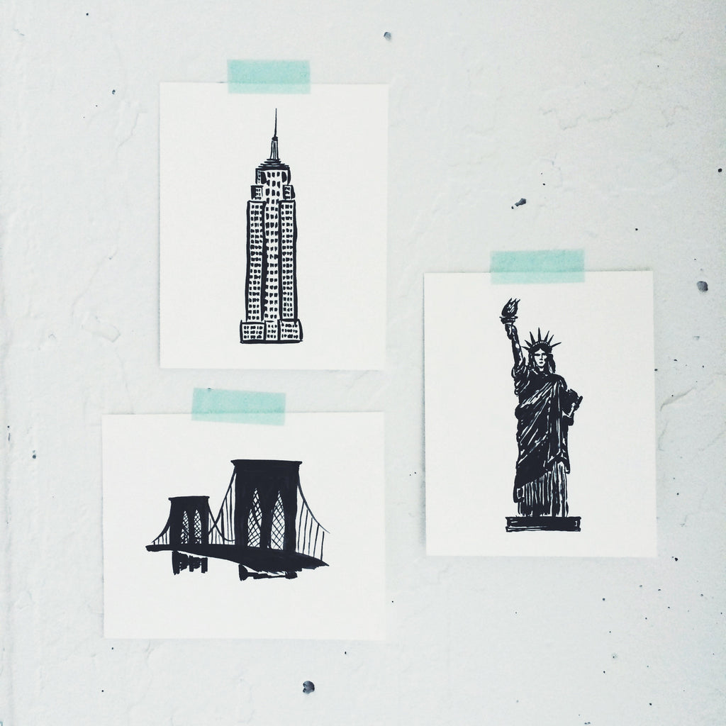 Mini Print: Statue of Liberty