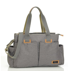 Storksak Travel Shoulder bag Grey changing Bag | Shoulder bag | Storksak - Award-winning Baby Changing Bags & Accessories