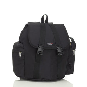 Storksak Travel Backpack Black nappy bag Bag | Backpack nappy bag | Storksak - Award-winning Baby Nappy Bags & Accessories