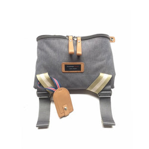 Storksak Travel Duffle Grey hospital bag folded | Maternity hospital bag | Storksak - Award-winning Baby Changing Bags & Accessories