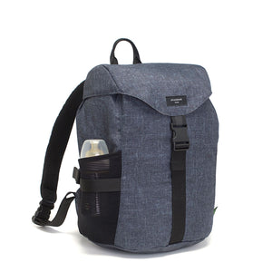 Storksak Eco Travel Backpack Navy Nappy Bag | Backpack Nappy bag | Storksak - Award-winning Baby Nappy Bags & Accessories/ recycled