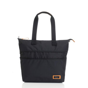 Storksak Travel Expandable tote Black hospital bag expanded view | Maternity hospital bag | Storksak - Award-winning Baby Changing Bags & Accessories