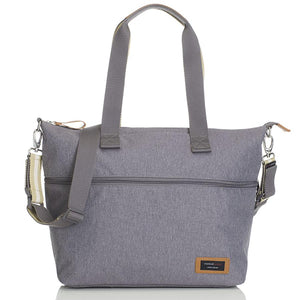 Storksak Travel Expandable tote Grey hospital bag | Maternity hospital bag | Storksak - Award-winning Baby Nappy Bags & Accessories